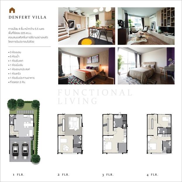 cityresort-denfertvilla-plan